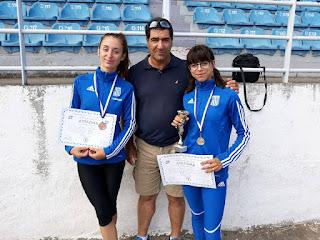 Μεγάλες επιτυχίες αθλητών της Λέσβου στο Πανελλήνιο Πρωτάθλημα Εφήβων-Νεανίδων στο Δημοτικό Στάδιο Τρικάλων