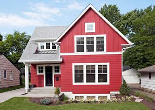 บ้านสีแดง น่าอยู่มาก