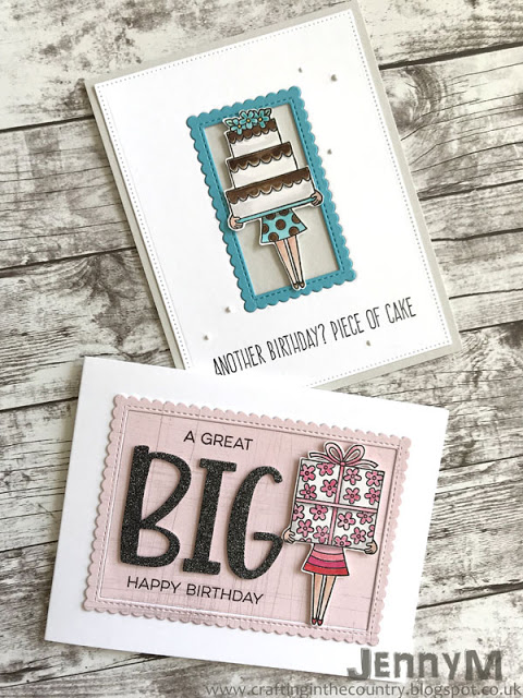 Big Birthday Wishes by Jenny M | Holding Happiness Stamp Set by Newton's Nook Designs #newtonsnook #handmade
