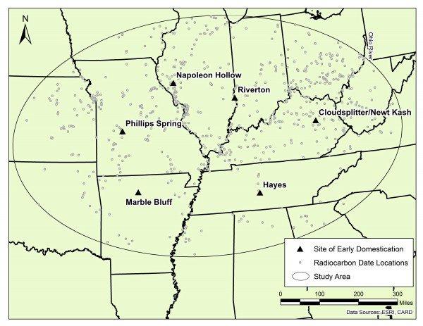 Population boom preceded early farming in North America