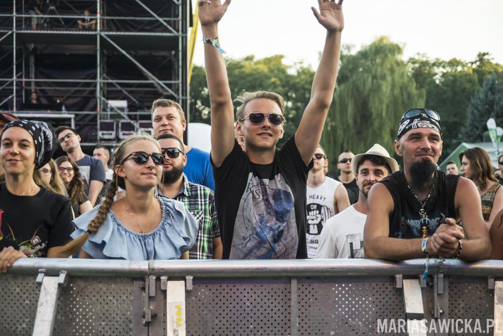 Dub Inc Czad Festiwal crowd tłum