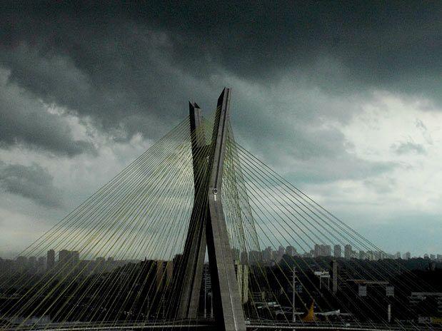 072d2da51 ATENÇÃO: toda a cidade de São Paulo em atenção por causa da forte chuva que  cai e alerta no bairro do Ipiranga por causa do transbordamento do Córrego  ...