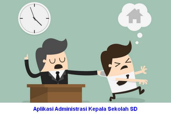 Aplikasi Administrasi Kepala Sekolah SD