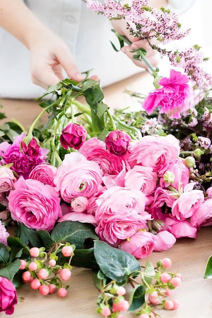 Flower Arranging Floristry Fleurs