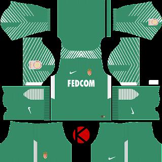 AS Monaco FC Nike Kits 2017/18 - Dream League Soccer