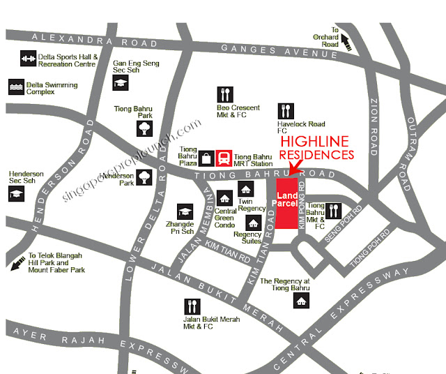Highline Residences Location