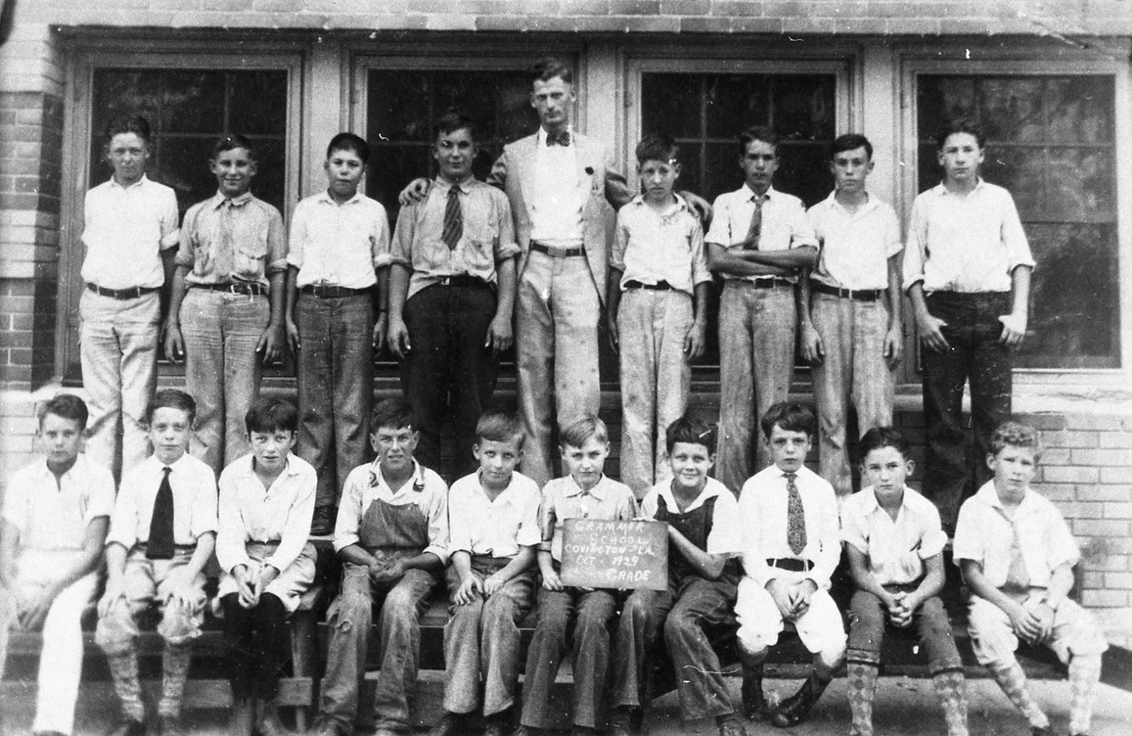 Tammany family covington grammar school classes for The covington