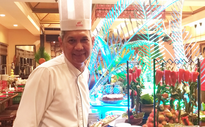 Executive Chef Bienvenido Chavez of Waterfront Insular Hotel Davao