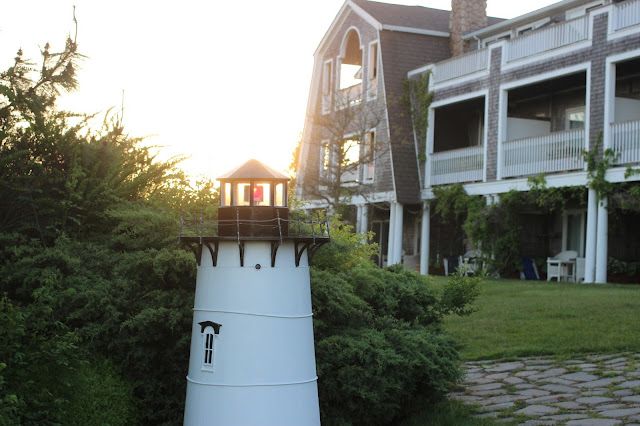 Miniature Edgartown Lighthouse | Winnetu | Chichi Mary Blog