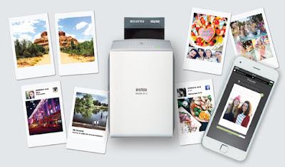 Fuji instax, share, share sp 2, instantánea, fotografía, smartphone, diseño, precio, plata, dorado, redes sociales, wifi, polaroid, fujifilm