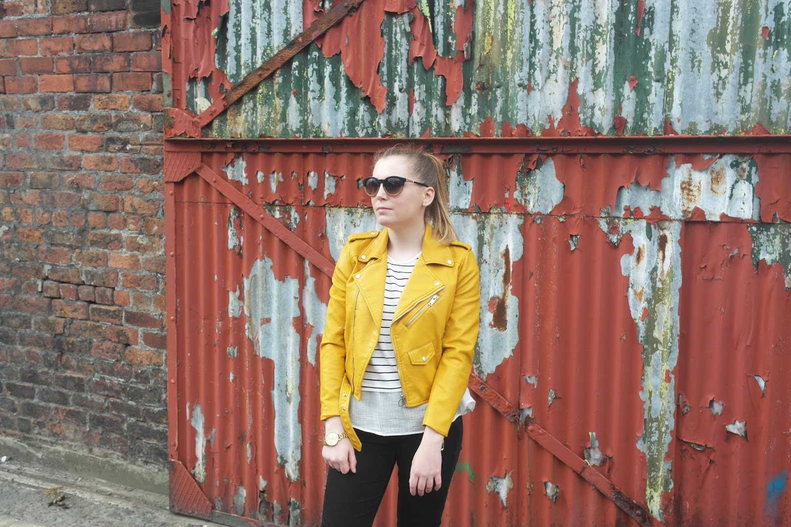 Leather jacket yellow zara - Ootd Zara Yellow Leather Jacket Why Hello Its Been Well Over 2 Months Since I Have Blogged Over On This Slice Of The Web And I Am Terribly Sorry I Have