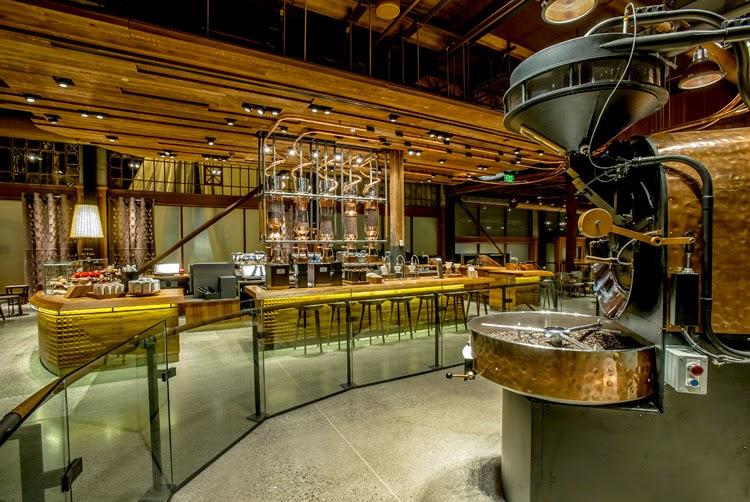 A Maior Cafeteria Starbucks Do Mundo Design Innova