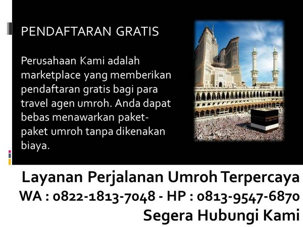 travel umroh backpacker bandung