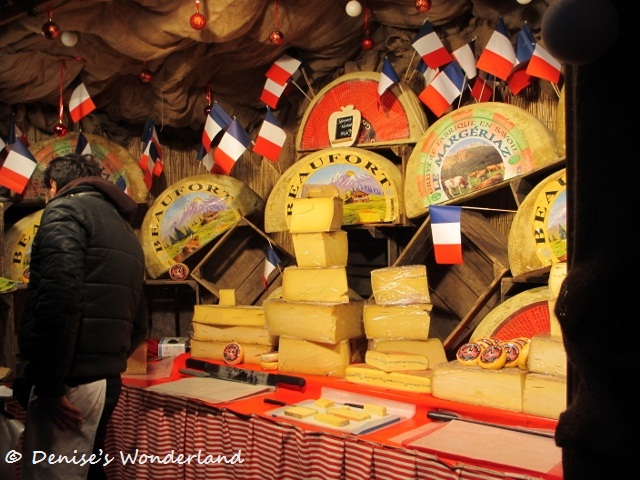 Stall Selling Artisan Cheese