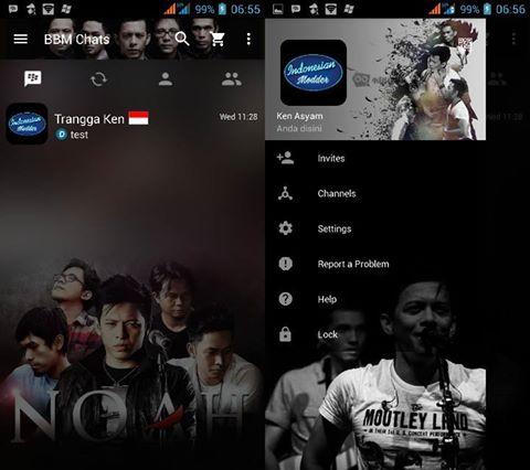 Download BBM Mod Noah Band Versi 3.2.0.6 Apk Update Full Fitur Terbaru dan Keren Gratis