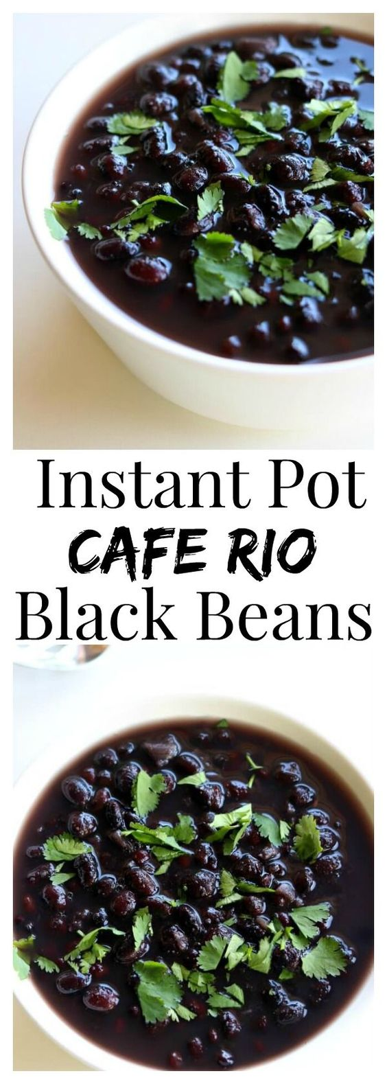 INSTANT POT CAFE RIO BLACK BEANS RECIPES