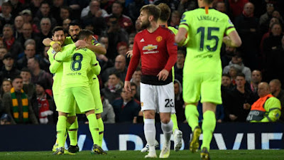 Man Utd - Barça Champions League 0 - 1