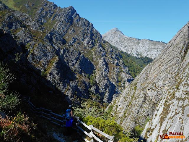 Desfiladero de Los Arrudos: Vista desfiladero