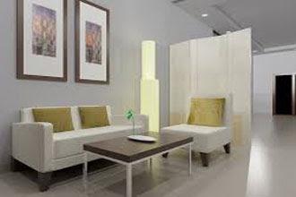 warna cat ruang tamu 2 warna elegan dan bagus