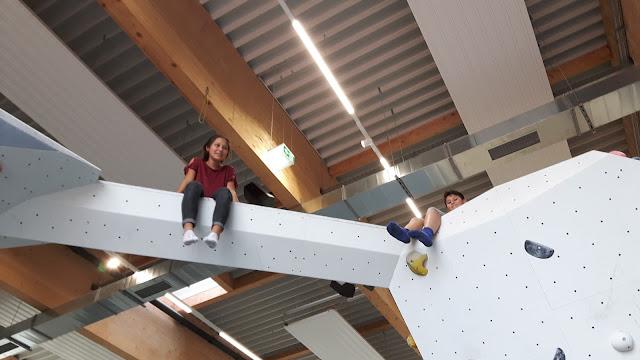 klettern und bouldern im Swoboda alpin Kempten
