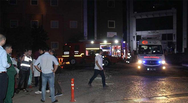 Diyarbakır Kadın Doğum Hastanesinden 181 hasta tahliye edildi