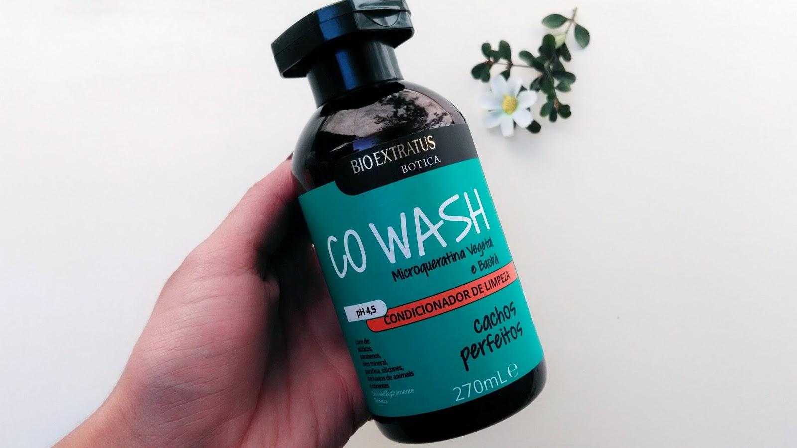 botica cachos condicionador co wash bio extratus resenha
