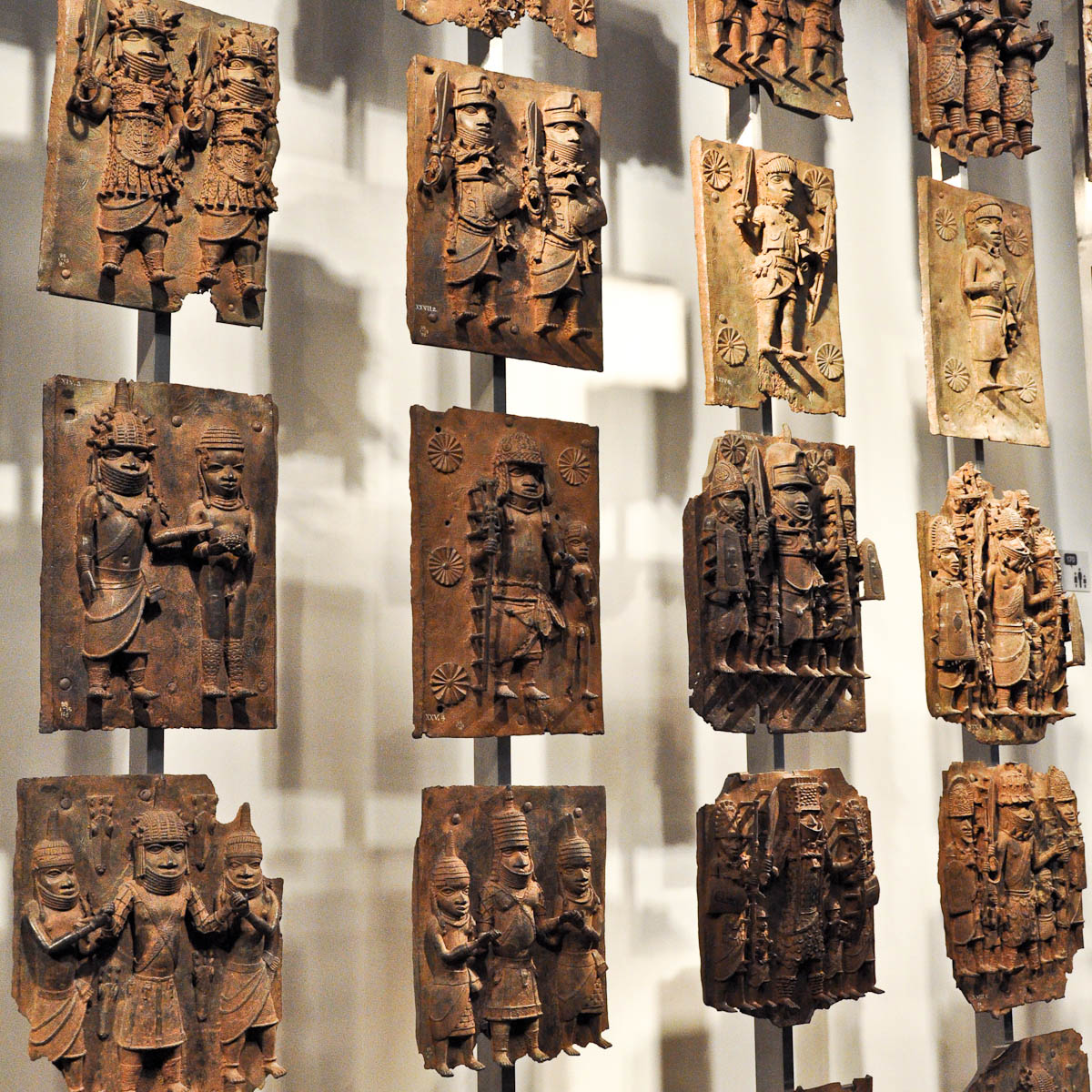 The Benin plaques, The British Museum, London, UK