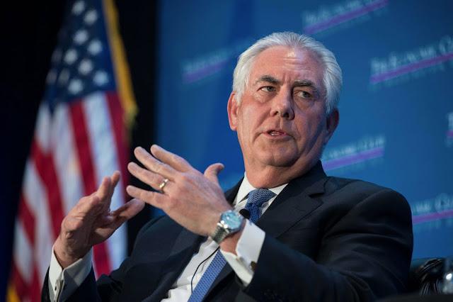 وزير الخارجية الأمريكية حصار قطر غير مرغوب فيه