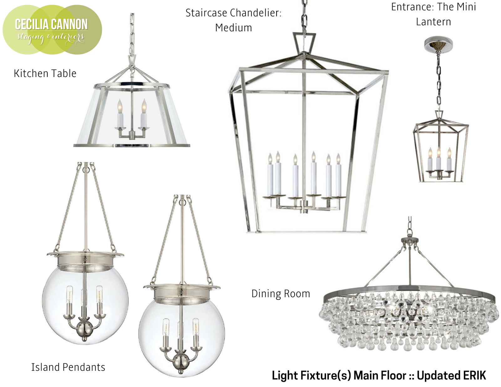 Modern Colonial Interior Light Fixtures - Home with Keki