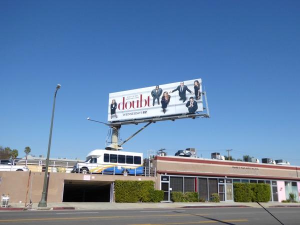 Doubt series launch billboard