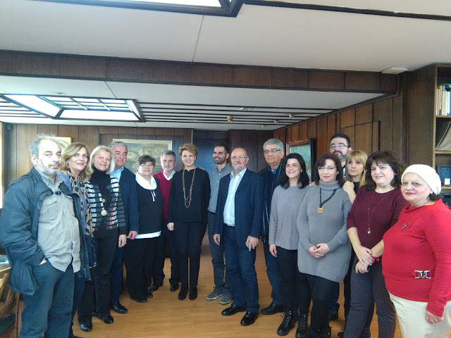 Συνάντηση της Υπουργού, Όλγας Γεροβασίλη, με την Ομοσπονδία Πολυμελών Οικογενειών με Τρία Τέκνα Ελλάδος (ΟΠΟΤΤΕ)