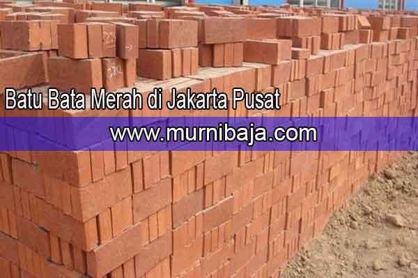 Harga Batu Bata Merah Jakarta Pusat