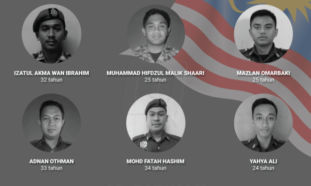 6 Wira Terkorban ketika Operasi Cari dan Menyelamat