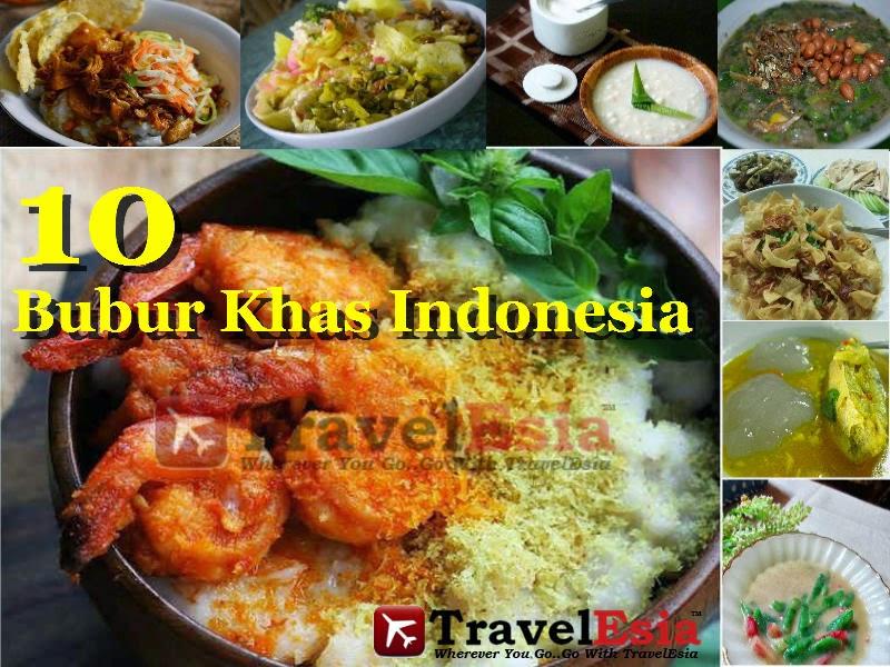 Bubur Khas Indonesia