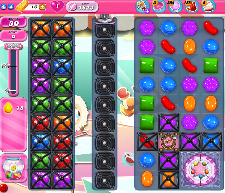 Candy Crush Saga 1823