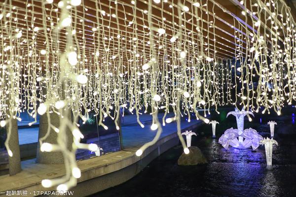 《台中.中區》2018柳川水岸創意光景藝術展|舊城新生博覽會|點亮綠柳川|水中聖誕樹