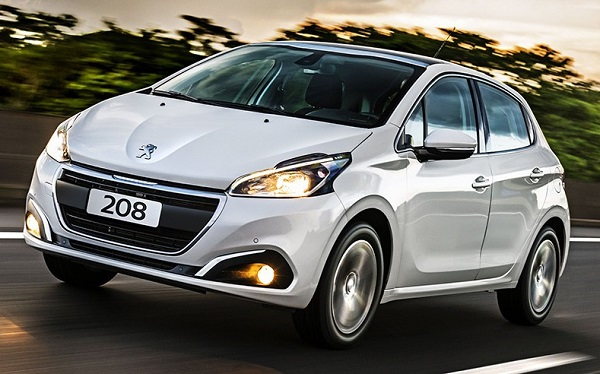 Ficha Técnica Peugeot 208 2018