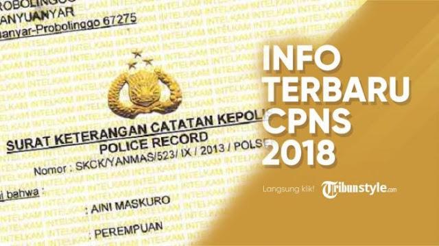 Satu Hari Jelang sscn.bkn.go.id Bisa Diakses, Apakah SKCK jadi Syarat Daftar CPNS 2018?