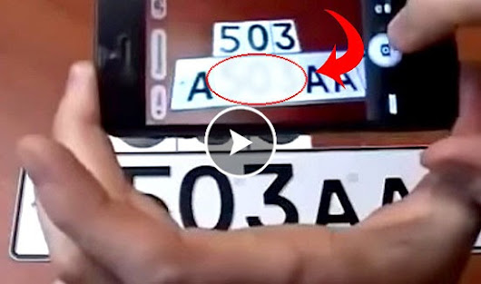 Anti Radar Sticker to Hide Number Plate