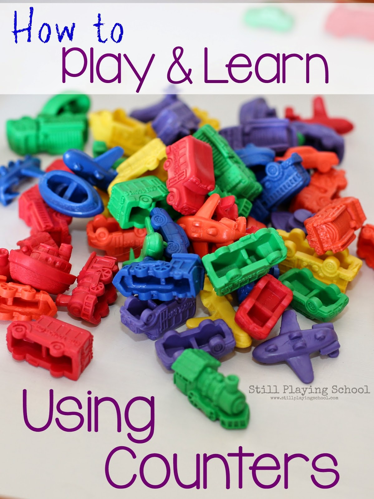 Transportation Math: Sorting, Counting, and Patterning with