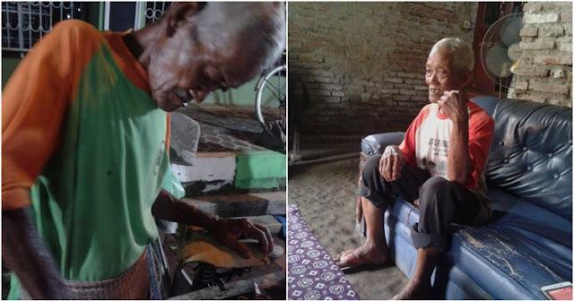 Kisah Mbah Slamet, Kakek Penjual Roti Bakar Keliling Ini Bikin Terharu