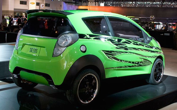 Hot Cars: Modified Chevrolet Beat Transformers 2