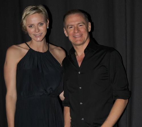 Princess Charlene of Monaco attended the concert of Bryan Adams in Monaco