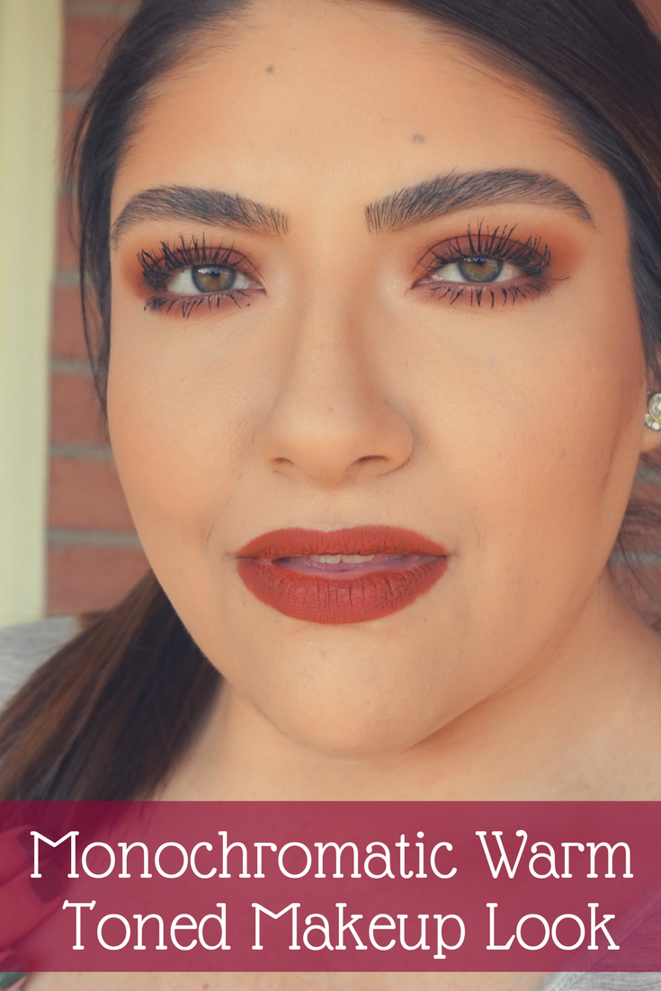 Easy Warm Toned Makeup Look // Beauty With Lily - A West Texas Beauty, Fashion & Lifestyle Blog