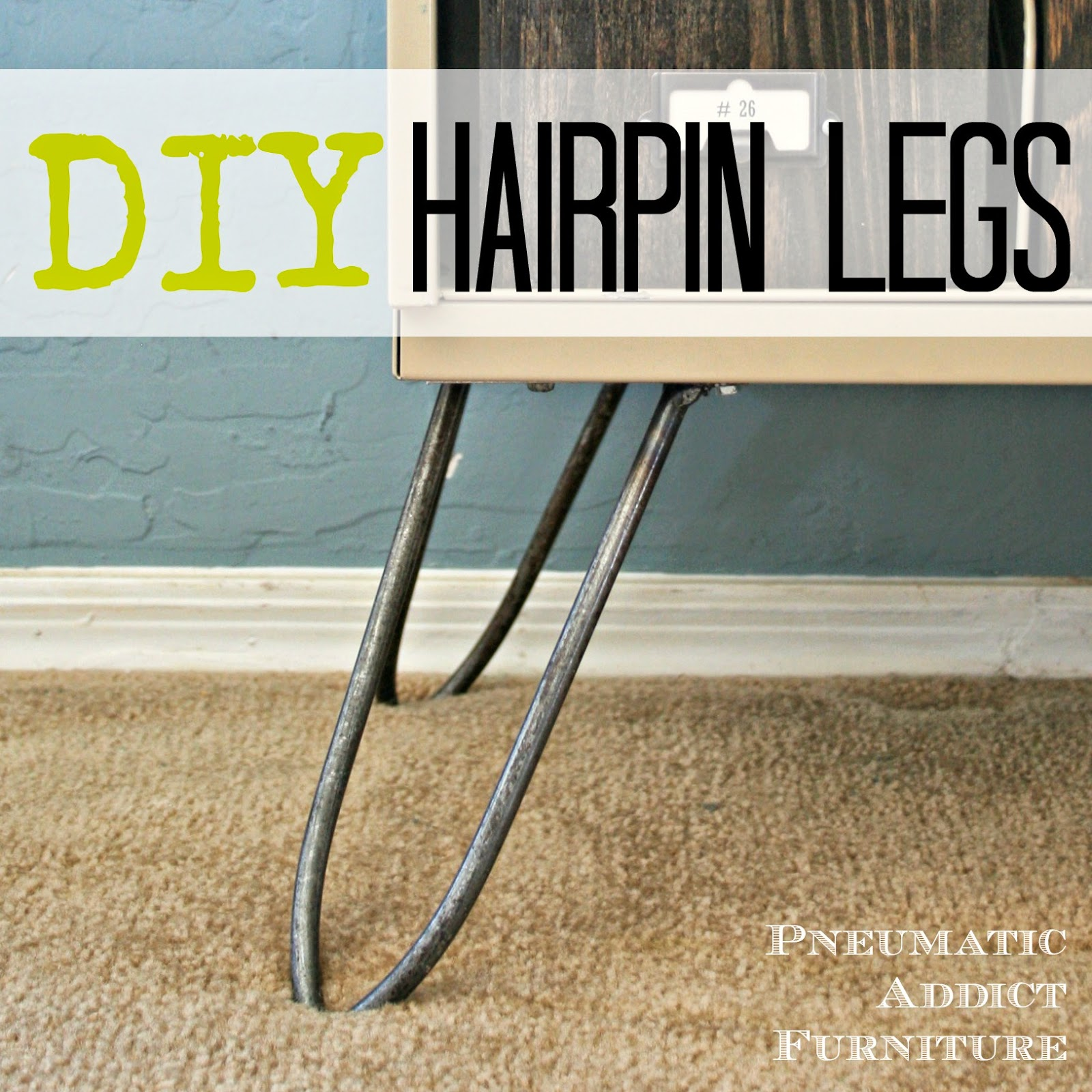 Diy Hairpin Legs Pneumatic Addict