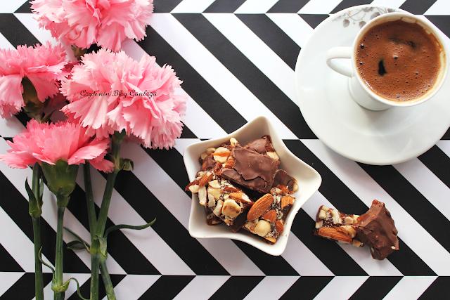 evde basit çikolata yapımı