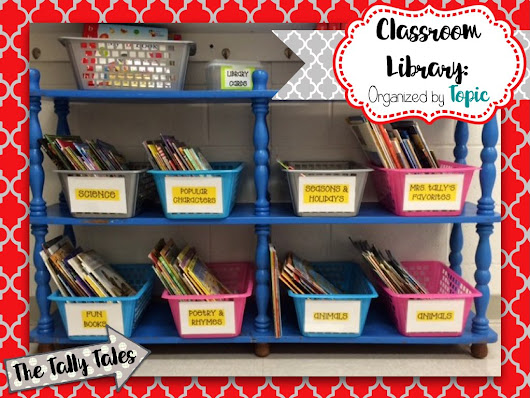 Sharing a Love for Reading with Your Classroom Library