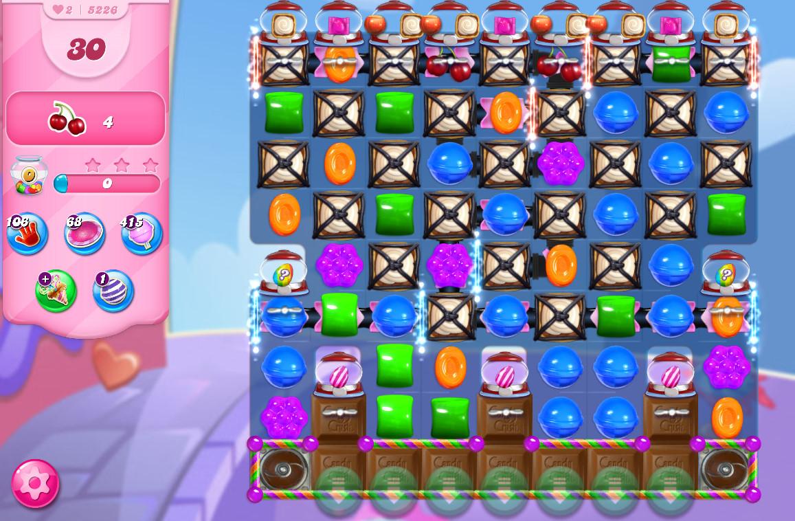 Candy Crush Saga level 5226