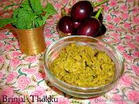 images for Brinjal Thokku Recipe / Kathirikai Thokku Recipe