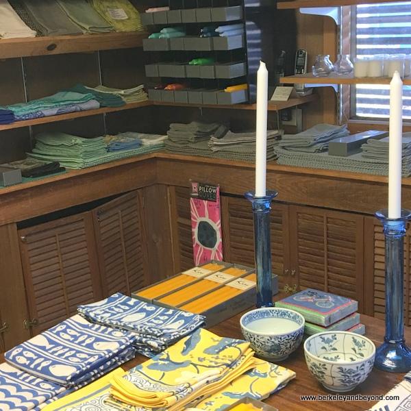 home items for sale at Stinson Beach Books in Stinson Beach, California